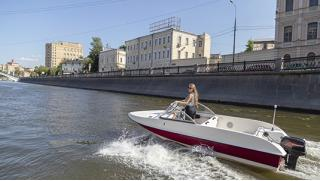Скидка до 43% на аренду катера без капитана для самостоятельной прогулки по Москве-реке от компании «На катере»!