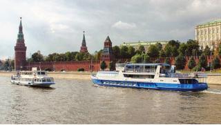 Прогулки на теплоходе Мария Ермолова! Прогулка на теплоходе премиум-класса по Москве-реке с обедом или ужином!