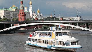 КупонМания! Прогулка «Романтика речной Москвы» с ужином на теплоходе «Фалькон» для двоих или четверых! Скидка 52%!