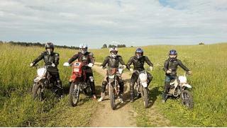 Весело и круто! Заезды на кроссовом мотоцикле или питбайке от компании «Веселуха» со скидкой до 72%!