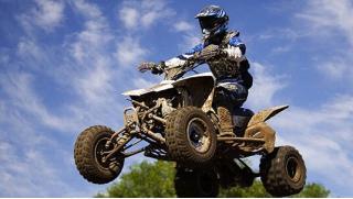 Познай крутость гонок! Заезд на квадроцикле по маршруту «Прогулочный» или «Экстрим» от компании «Веселуха»!