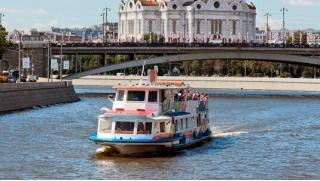 Скидка 50% на круиз «Москва златоглавая» на теплоходе «Августина» для компании до 10 человек с обедом или ужином на выбор!