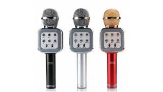Пой дома! Беспроводные караоке микрофоны или колонки с функцией караоке от интернет-магазина Town-Sales! Скидка 64%!
