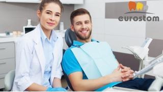 Лечение среднего или глубокого кариеса с установкой светоотверждаемой пломбы в стоматологии «Прага-Стом»!